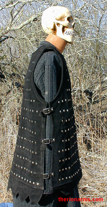 Therionarms Light Leather Brigandine Armor